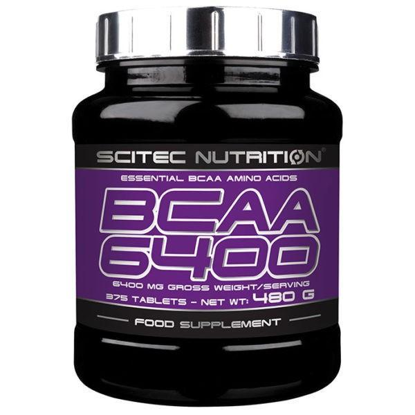 Scitec Nutrition BCAA 6400 | 375 Tablets | BCAA & Essential Amino Acids | Convenient Source Of The Three Key Branched Chain Amino Acids