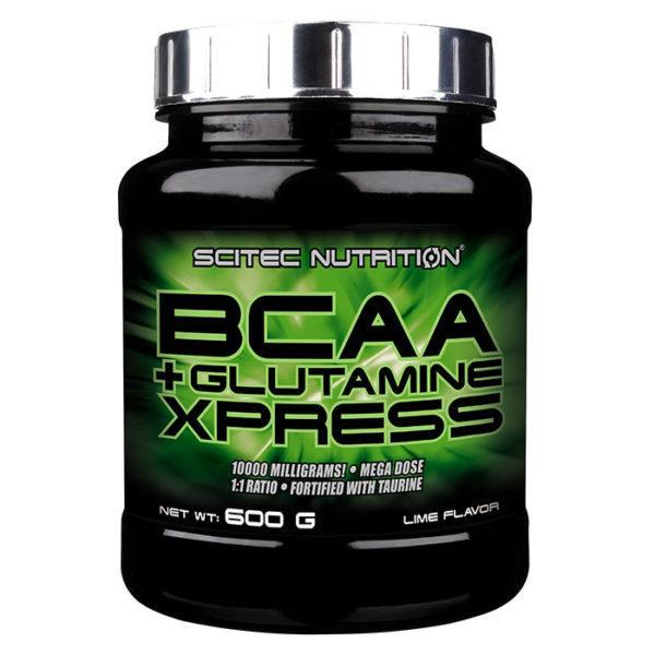 Scitec Nutrition BCAA+glutamine | 600g | Bubble Gum | Glutamine Supplements | Optimizes Muscle Growth, Maintenance & Recovery