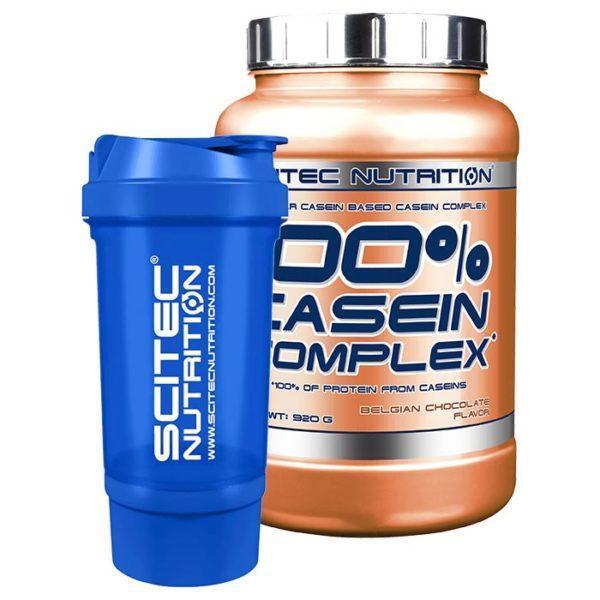 Scitec Nutrition Casein Complex | 920g | White Chocolate Maracuja | Milk & Casein Protein | 22g Protein Per Serving