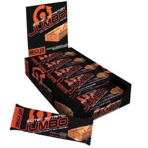 Scitec Nutrition Jumbo Protein Bar | 20 Bars | Double Chocolate Cookie | 50g Of Protein Per Bar | Protein Bars | Contains A Whopping 50g Of Protein