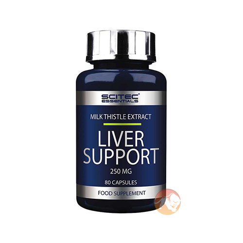 Scitec Nutrition Liver Support | 80 Capsules | Liver Support Supplements | Traditional Herbal Remedy