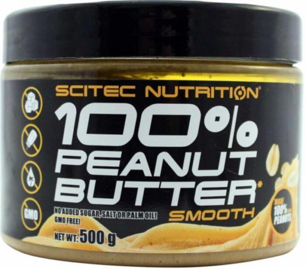 Scitec Nutrition Scitec 100% Peanut Butter | 500g | Nut Butters & Spreads | 100% Roasted Peanuts