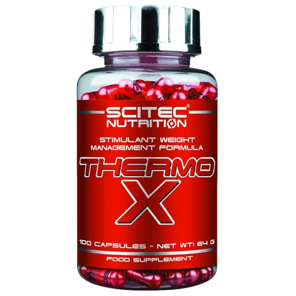 Scitec Nutrition Thermo-X | 100 Caps | Thermogenic Fat Burner | Fat Burners | Highly Thermogenic Fat Burner