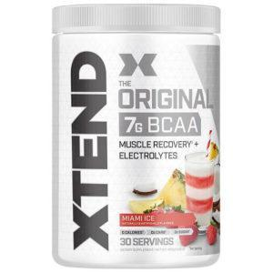 Scivation XTend Intra Workout | 30 Servings | Miami Ice | BCAA & Essential Amino Acids | The Number 1 Intra-Workout