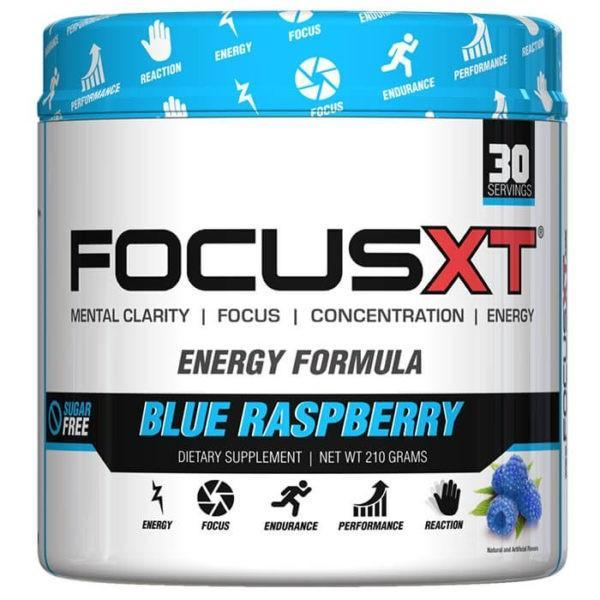 Serious Nutrition Solutions Focus XT | 30 Servings | Storming Grape Lemonade | Pre-Workout Supplements | Improved Mental Focus & Clarity