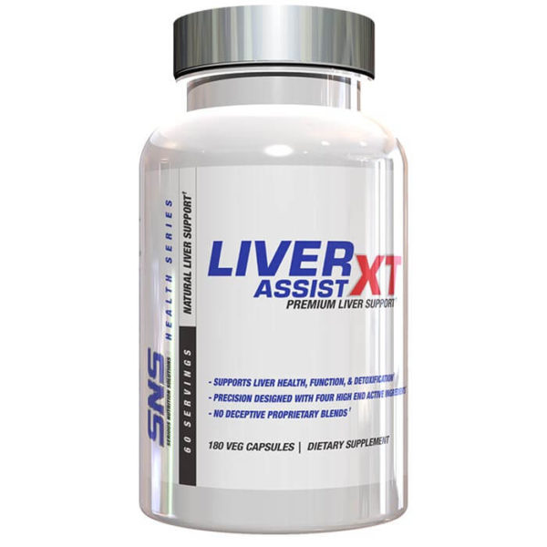 Serious Nutrition Solutions Liver Assist XT Capsules | 180 Capsules | Cycle Support | Protects Against Oxidative Damage