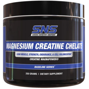 Serious Nutrition Solutions Magnesium Creatine Chelate | 250g | Synergistic Combination Of Ingredients For Replenishing Atp