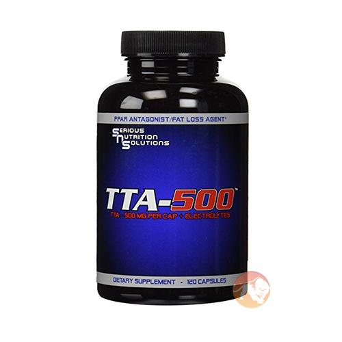 Serious Nutrition Solutions Tta-500 | 120 Caps | Non-Stimulant Fat Burner | Non-Stimulant Fat Burners | Non-Stimulant Fat Loss