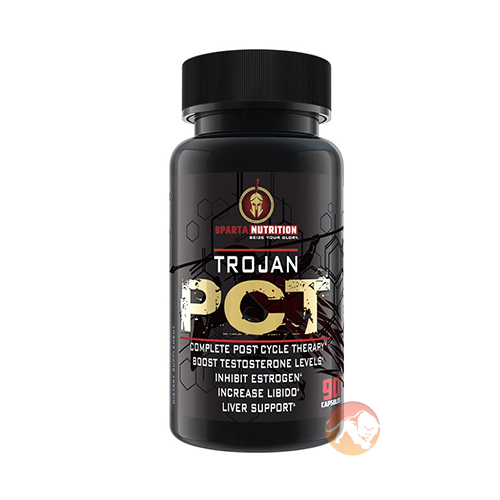 Sparta Nutrition Trojan Pct | 90 Capsules | T Boosters | Versatile Natural Muscle Builder