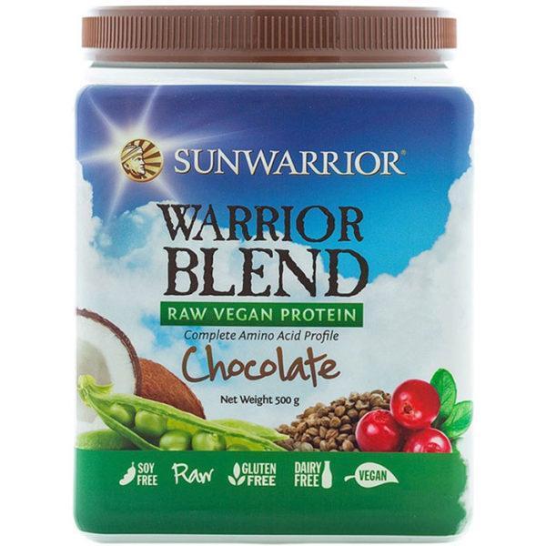 Sunwarrior Warrior Blend Raw Vegan Protein 500g Tub