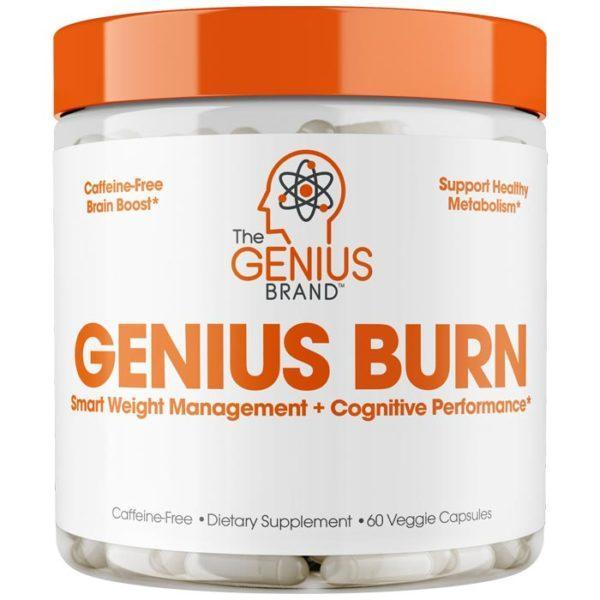 The Genius Brand Genius Burn In UK | 60 Caps | The All In One Fat Burner | Fat Burners | Packed With High Quality Trademarked Ingredients