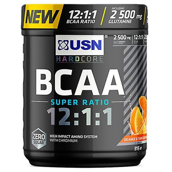 USN BCAA 12.1.1 | 30 Servings | Blue Raspberry | BCAA Recovery Drink | BCAA & Essential Amino Acids | Super Ratio Intra Workout Formula
