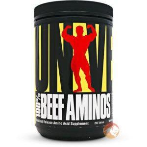 Universal 100% Beef Aminos | 400 Tablets | BCAA & Essential Amino Acids | Derived from Grass-Fed Argentine Beef