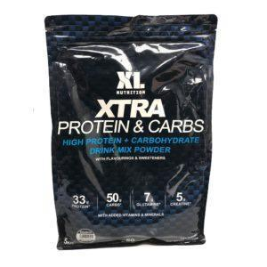 XL Nutrition XTRA Protein & Carbs