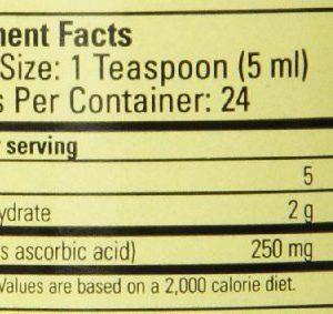 Child Life Essentials Liquid Vitamin C, 4 Fl Oz, 250 Mg