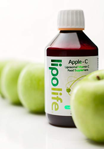 Liposomal Vitamin C, Apple-C 250ml - Lipolife - Help Support a Healthy Immune System