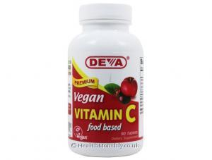 Deva Vegan Vitamin C (Food Based) (90 Tablets)