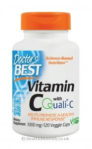 Doctor's Best Vitamin C Featuring Quali-C (1,000mg, 120 Vegetarian Capsules)