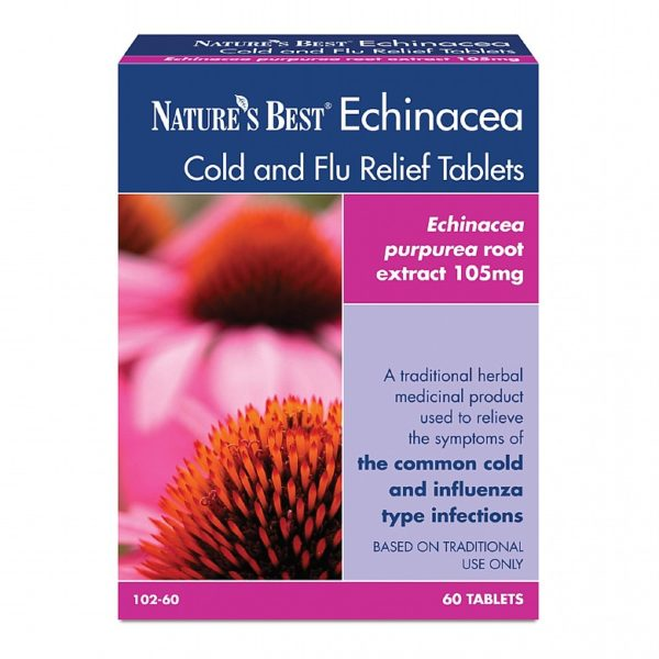 Echinacea Cold And Flu Relief Tablets 60 Tablets