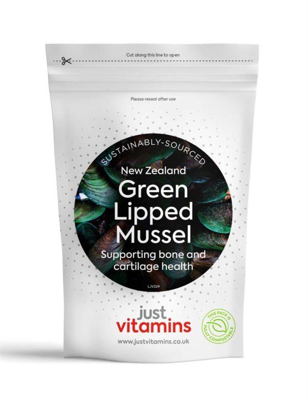Green Lipped Mussel 500mg Calcium Vitamin C