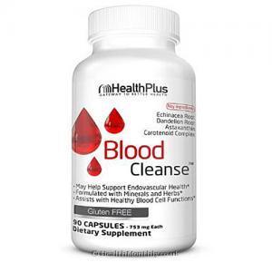Health Plus Inc Super Blood Cleanse (753mg, 90 Capsules)