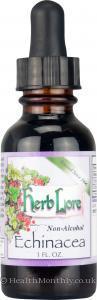 Herb Lore Echinacea Tincture (Non-Alcohol, 29ml)