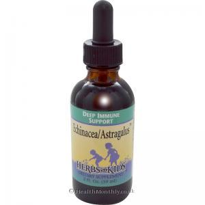 Herbs For Kids Echinacea/Astragalus (59ml)