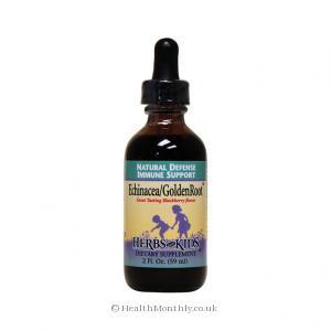 Herbs for Kids Echinacea/GoldenRoot (Blackberry Flavoured, 59ml)