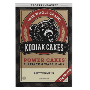 Kodiak Cakes Kodiak Power Cakes | Buttermilk | Pre-Mixed Baking Mixes | Protein Desserts & Cooking Mixes | Easy To Make Baking Mix