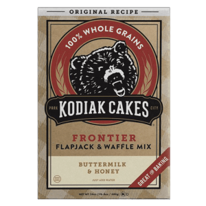 Kodiak Cakes Kodiak Power Cakes | Buttermilk & Honey | Pre-Mixed Baking Mixes | Protein Desserts & Cooking Mixes | Easy To Make Baking Mix