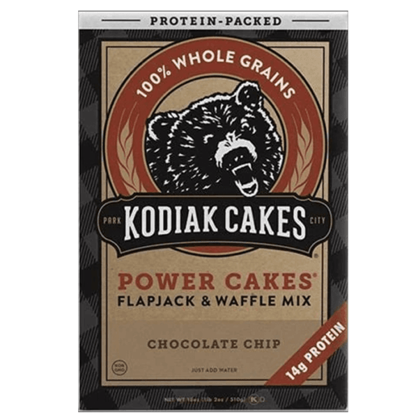 Kodiak Cakes Kodiak Power Cakes | Chocolate Chip | Pre-Mixed Baking Mixes | Protein Desserts & Cooking Mixes | Easy To Make Baking Mix