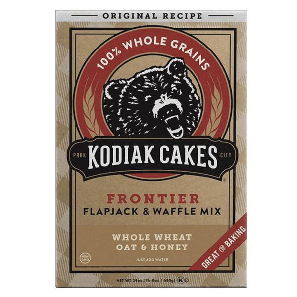 Kodiak Cakes Kodiak Power Cakes | Oats & Honey | Pre-Mixed Baking Mixes | Protein Desserts & Cooking Mixes | Easy To Make Baking Mix