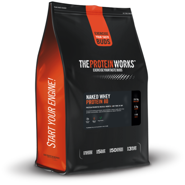Naked Whey Protein 80