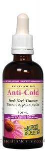 Natural Factors Anti-Cold Tincture (100ml)