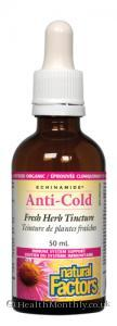 Natural Factors Anti-Cold Tincture (50ml Tincture)