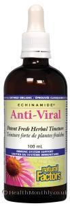Natural Factors Echinamide Anti-Viral Herbal Tincture (100ml Tincture)