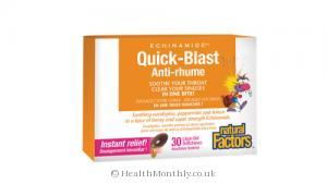 Natural Factors Echinamide Quick Blast (6 Pack x 30 Chewable Softgels)