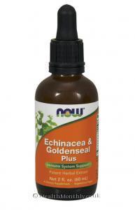 Now Foods Echinacea & Goldenseal Plus (60ml)