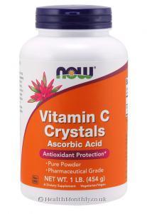 Now Foods Vitamin C Crystals (454g)