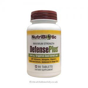 NutriBiotic Defense Plus (250mg, 90 Tablets)