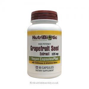 NutriBiotic Grape Seed Extract CapsulesPlus (125mg, 90 Capsules)