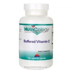 Nutricology Allergy Research Buffered Vitamin C (120 Vegetarian Capsules)