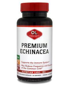 Olympian Labs Premium Echinacea (400mg, 100 Capsules - Clearance item)