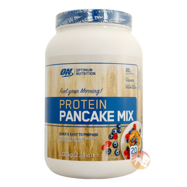 Optimum Nutrition Protein Pancake Mix | 1.02kg | Breakfast Fuel | Protein Powder | 20g Of Protein For Muscle Recovery & Protein Synthesis