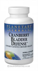 Planetary Herbals Cranberry Bladder Defense (120 Tablets)