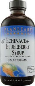 Planetary Herbals Echinacea-Elderberry Syrup™ (237ml)