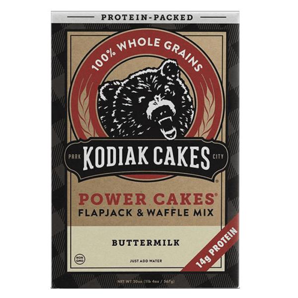 Power Cakes 6 Servings Buttermilk