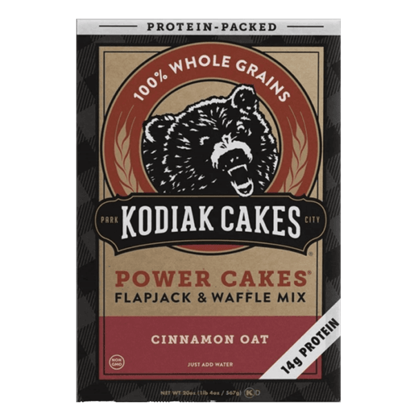 Power Cakes 6 Servings Cinnamon Oat