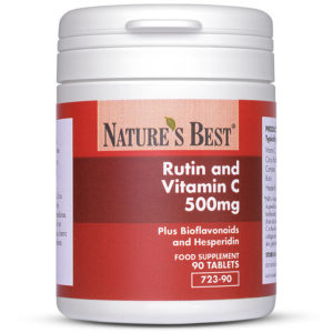 Rutin And Vitamin C 500Mg Plus Bioflavonoids + Hesperidin 90 Tablets
