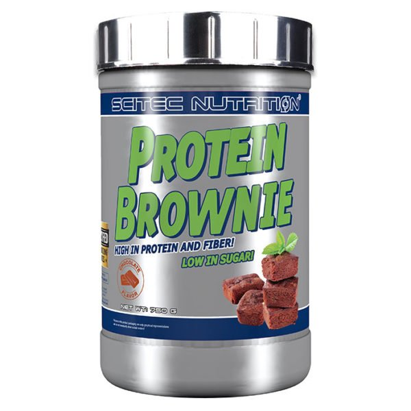 Scitec Nutrition Protein Brownie Mix | 750g | Chocolate | Protein Desserts & Cooking Mixes | Great Tasting & Low In Sugar